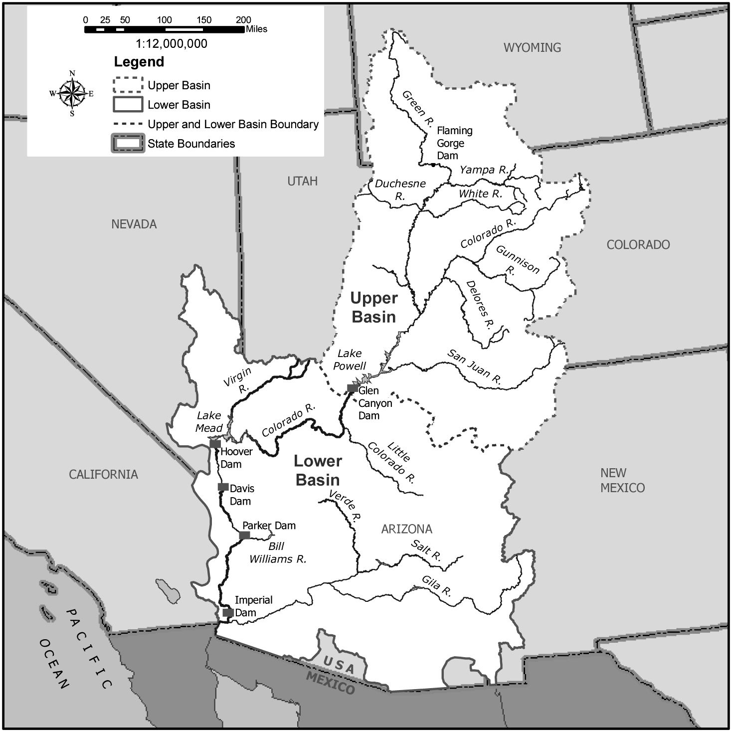 Source: U.S. Department of the Interior, Bureau of Reclamation